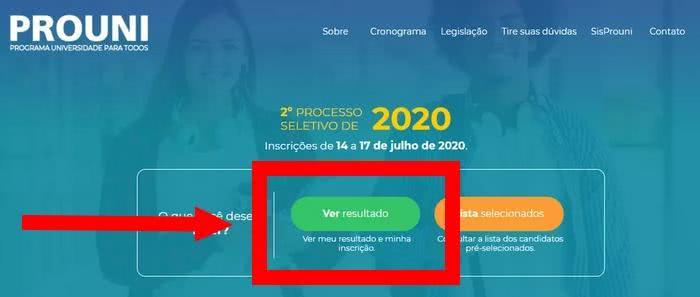 Resultado Prouni 2022