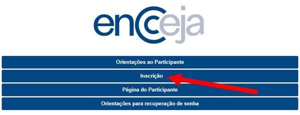 Inscrição ENCCEJA 2022