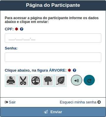 Página do Participante ENCCEJA