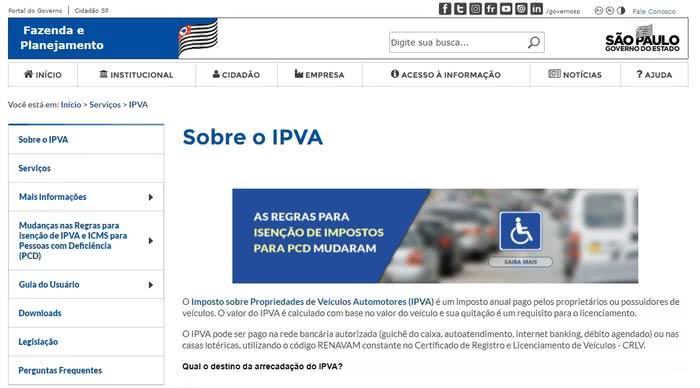 2ª via IPVA 2022