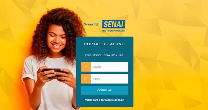 Portal do Aluno SENAI 2022